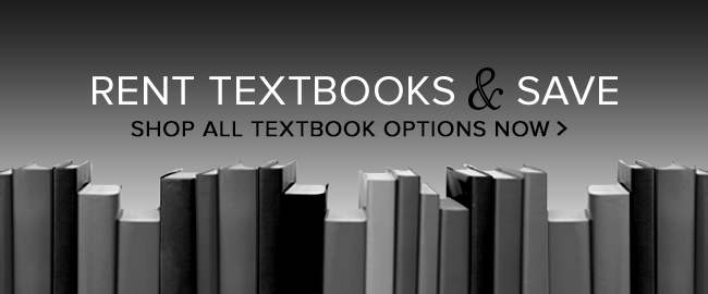 RENT TEXTBOOKS AND SAVE. SHOP ALL TEXTBOOK OPTION NOW. Click to rent textbooks.