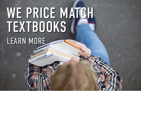 Picture of student. We price match textbooks. Click to learn more.